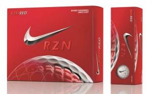 Free NIke RZN Red golf balls