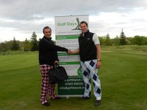 Winner,Adam Saunders (left)