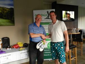 Winner, Richard Lawton (left)