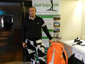 2013 Golf Days UK Norfolk Tour Order of Merit Winner, Adam Saunders